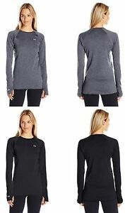 Under Armour Womans BaseLayer Crew Shirt Many Styles Colors and Sizes