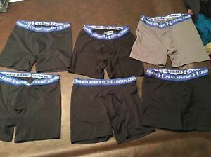 Men's Under Armour Boxerjock Boxer Jock Large Lot of 6 Pairs MD Boxers Preowned