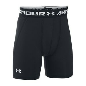 Under Armour HeatGear Junior Armour Fitted Mid Shorts