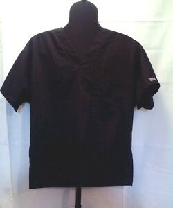 Cherokee black Scrub Small one chest pocket