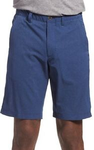 UNDER ARMOUR MENS PUNCH GOLF SHORTS SIZE 34 BLUE