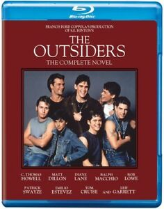 The Outsiders: The Complete Novel New Blu ray Dolby Digital Theater $9.59
