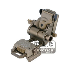 Tactical L4 G24 Breakaway MICH  ACH Helmet NVG Mount for AN PVS15 PVS18 PVS21