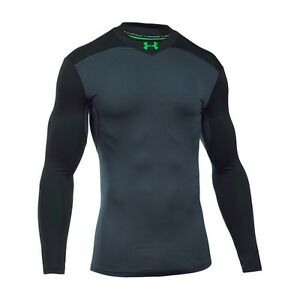 Under Armour ColdGear IR Mens Armour Elements Mock Long Sleeve Compression Top -