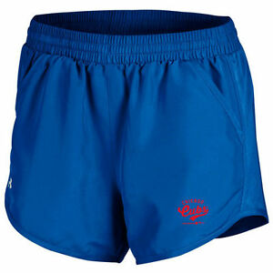 Chicago Cubs Under Armour Women's Fly By Running Shorts - Royal - MLB