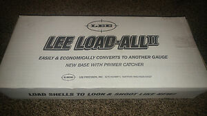 Lee Precision Load-All II Shotshell Reloading Press 12 GA (Multi) new in box