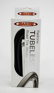 Maxxis Padrone 700x23c Tubeless Road Bike Tire $50.85