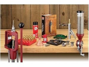 Hornady 085003 LNL Classic Kit Single Stage Red Reloading Press Complete Package
