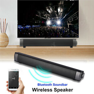 TV Sound Bar Home Theater Subwoofer Soundbar with Wireless  Wired Sound Box