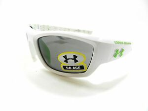 Under Armour Sunglasses UA ACE WHITE YOUTH FIT New Authentic