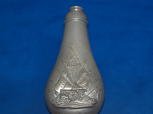 Antique  Colts Patent  Flask - Marked Dixon & Sons - England