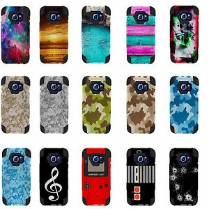 For Samsung Galaxy S7 ACTIVE Hybrid Case Camouflage Gameboy sports