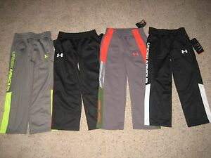 Under Armour Boys Long Sleeve Shirts Pants Size 4 ~~~Lot of 8~~~