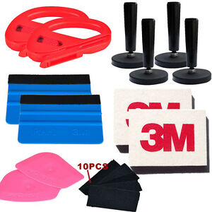 13in1 Auto Decals Film Tinting Installation Wrap Tools Kit Tint Squeegee Scraper
