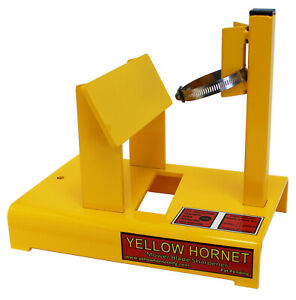 Yellow Hornet Lawn Mower Blade Sharpener. Made In USA Not China $149.00
