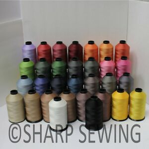 #69 NYLON SEWING THREAD BONDED TEX70 8 OZ CONE LEATHER CANVAS UPHOLSTERY LUGGAGE $15.88