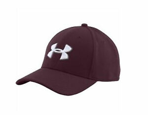 Under Armour Men's Blitzing II Stretch Fit Hat Maroon XLXXL (24 14