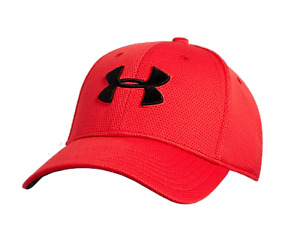 Under Armour Men's Blitzing II Stretch Fit Hat Red XLXXL (24 14