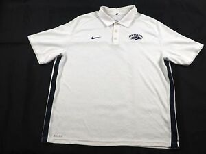 Nike Nevada Wolf Pack - White Dri-Fit Polo Shirt (Multiple Sizes) - Used