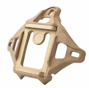 Low Profile 3-Hole Skeleton NVG Mount Shroud for ACH  MICH  Crye  Helmet