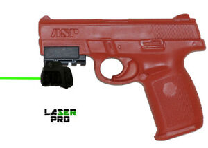 Green Rechargeable Laser Sight for S&W Sigma SW9VE & SW40VE w Rail Adapter