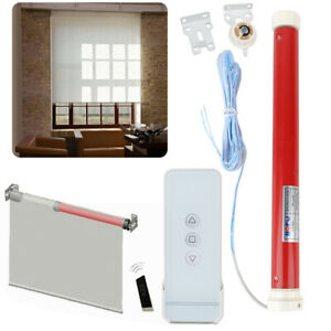 1.5A 12V Electric Roller Blind Shade Tubular Motor Kit amp; Remote Controller Tool