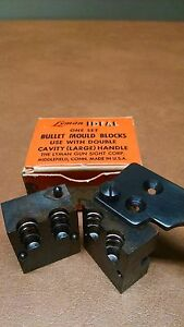 Lyman 2 cavity bullet mold 38 cal. 162 gr swc new In box