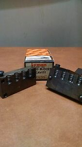 Lyman 4 cavity bullet mold #358495  38 cal. 141gr wadcutter.  Perfect condition!