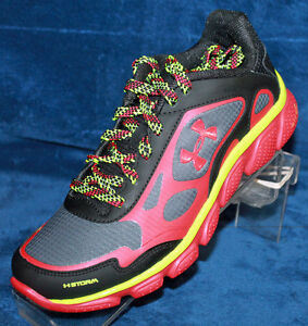 Youth Boys Under Armour BGS Micro G Pulse Storm Size 6.0 - 1243869-002