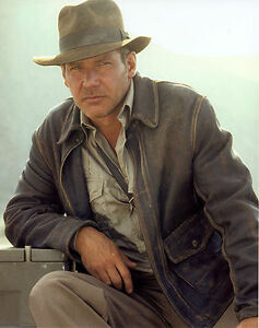 Indiana Jones Harrison Ford Real Leather Jacket