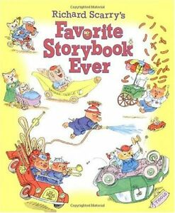 Richard Scarrys Favorite Storybook Ever Picture Book by Golden Books
