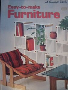 Easy to make Furniture Sunset Book $4.29