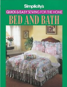 Simplicitys Quick and Easy Sewing for the Home Be $10.90