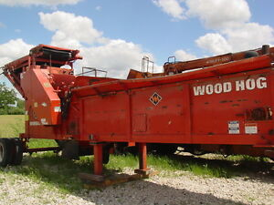 2010 Morbark 2600 Electric Wood Hog Horizontal Grinder