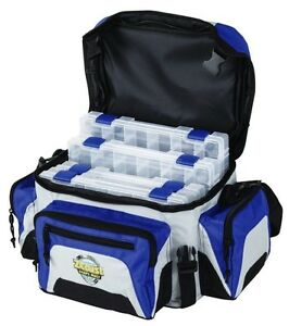 Fishing Tackle Bag Box System 4-4007 Tuff Tainers With Zerust Softside Top Load