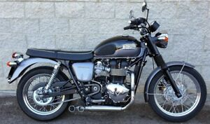 Triumph Bonneville  T100  Thruxton MassMoto Exhaust Full System 2in1 Trucker
