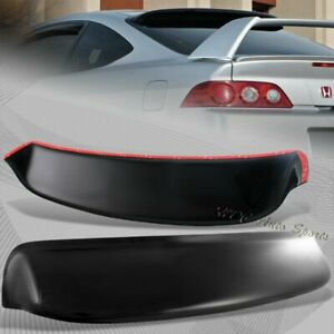 For Acura RSX DC5 Type S ABS Plastic Black Rear Roof Spoiler Window Visor Wing $46.99