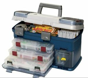 Fishing Tackle Box Plano Storage Outdoor Sporting Goods Equipment Boxes Bags