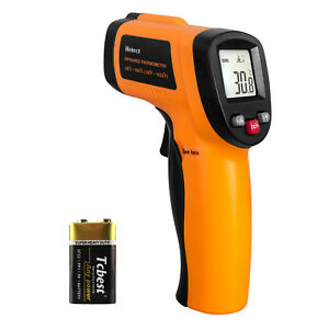 Helect Infrared Thermometer Non contact Digital Laser Infrared Temperature Gun $20.99