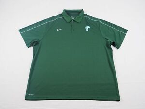 NEW Nike Tulane Green Wave - Green Dri-Fit Polo Shirt (3XL)