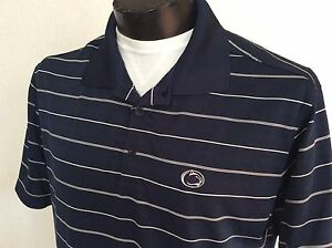 Large Nike Penn State Nittany Lions Polo Golf Shirt Pennsylvania Dry-Fit Mint