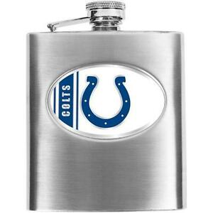 NFL Men's Indianapolis Colts Hip Flask