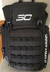 Under Armour Mens SC30 Backpack One Size Fits All Black (Stephen Curry)