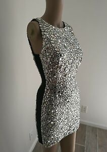 20K TOM FORD MIRROR DRESS WITH SHEER SIDES IT40