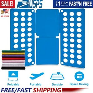 Adjustable T-Shirt Clothes Fast Folder Folding Board Laundry Organizer For Adult