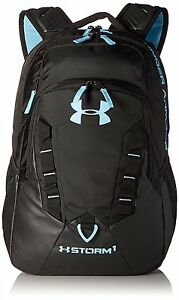Under Armour Storm Recruit Backpack BlackBlue Infinity One Size