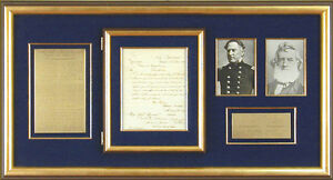 GIDEON WELLES - MANUSCRIPT LETTER SIGNED 06281864 WITH CO-SIGNERS