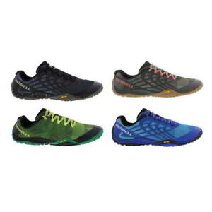 Merrell Trail Glove 4 Mens Trail Running Shoes Black Brown Size 7-12