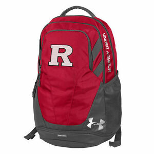 Rutgers Scarlet Knights Under Armour Hustle 3.0 Performance Backpack - NCAA