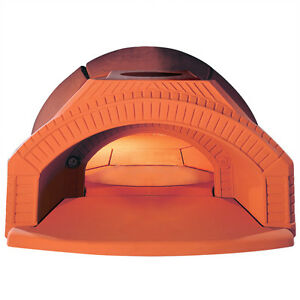 Forniref Brick Hearth Wood Fired Custom Outdoor Kitchen Bread Baking Pizza Oven